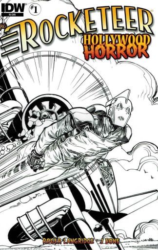 Rocketeer: Hollywood Horror #1 1:10 Walt Simonson Sketch Variant