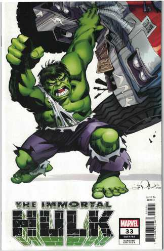 Immortal Hulk #33 1:100 Walter Simonson Variant Marvel 2018 Incredible #750