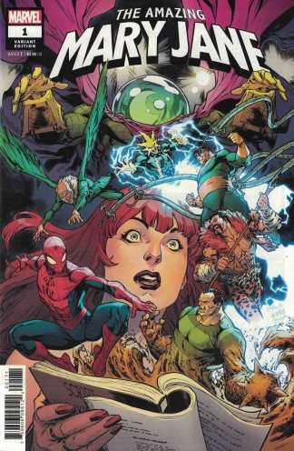 Amazing Mary Jane #1 1:25 Carlos Gomez Variant Marvel 2019