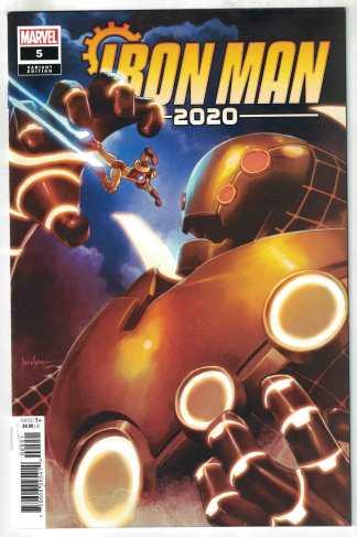 Iron Man 2020 #5 1:25 Mico Suayan Variant Marvel VF/NM