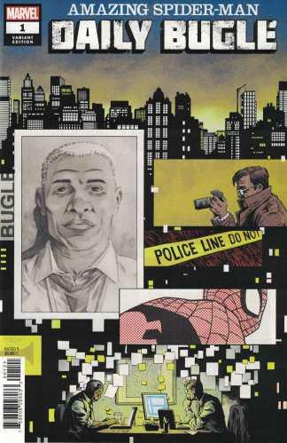 Amazing Spider-Man Daily Bugle #1 1:50 Declan Shalvey Variant Marvel 2020