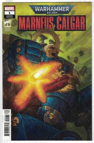 Warhammer 40K Marneus Calgar #1 1:25 E M Gist Variant Marvel 2020 VF/NM