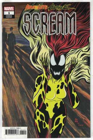 Absolute Carnage Scream #1 1:25 Allred Codex Variant Marvel 2019 Venom VF/NM