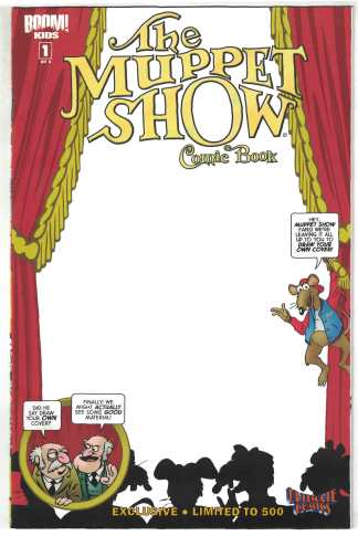 Muppet Show #1 Ultimate Comics Exclusive Blank Sketch Variant Boom 2009 VF/NM