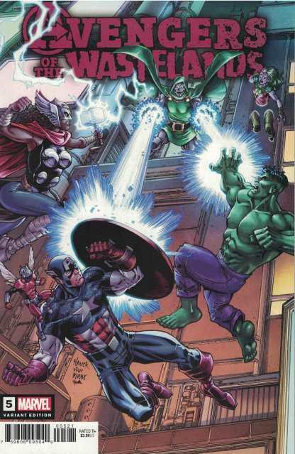 Avengers of the Wastelands #5 1:25 Todd Nauck Variant Marvel 2020 Doctor Doom