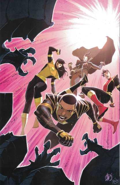 Power Rangers #2 1:50 Matteo Scalera Virgin Variant Boom! Sudios 2020