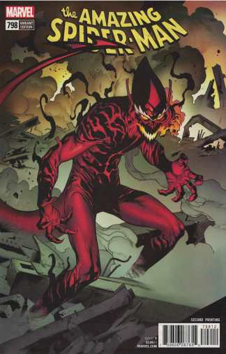 Amazing Spider-Man #798 Second 2nd Print Variant 2017 First 1st Red Goblin
