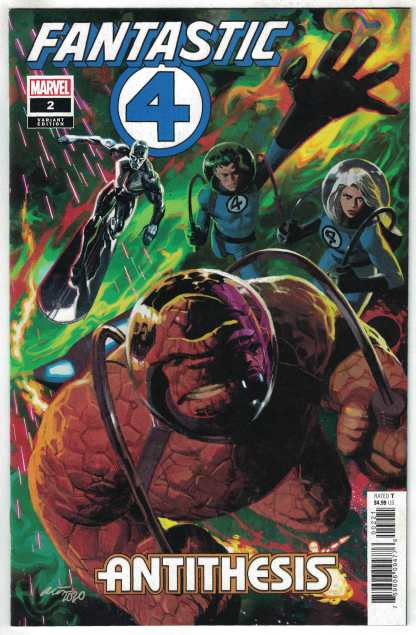 Fantastic Four Antithesis #2 1:50 Daniel Acuna Variant Marvel 2020 VF/NM