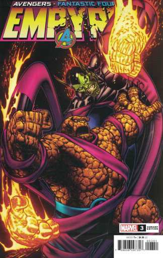 Empyre #3 1:50 Ed McGuinness Variant Marvel 2020 Avengers FF