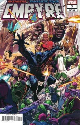Empyre #3 Secret One-Per-Store Variant Marvel 2020 Avengers FF