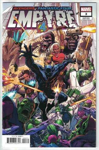 Empyre #3 Secret One-Per-Store Variant Marvel 2020 Avengers FF VF/NM