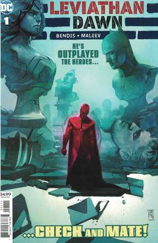 Leviathan Dawn #1 First Printing Cover A DC 2020 Bendis Maleev