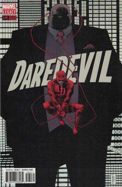 Daredevil #595 1:25 Declan Shalvey Variant Marvel Legacy