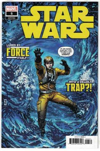 Star Wars #5 1:25 Patrick Zircher Variant Marvel 2020 VF/NM