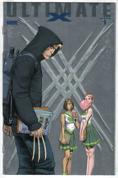 Ultimate X #1 Art Adams Foil Variant 1st Jimmy Hudson Wolverine 2010 VF/NM