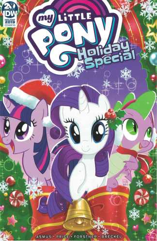 My Little Pony Holiday Special 2019 #1 1:10 Valentina Pinto Variant IDW