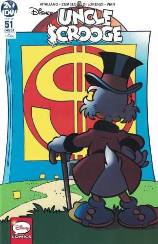 Uncle Scrooge #51 1:10 Giorgio Cavazzano Variant IDW 2019