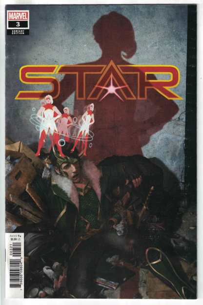 Star #3 1:25 Rahzzah Variant Marvel 2020 VF/NM