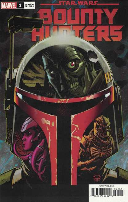Star Wars Bounty Hunters #1 1:50 Dave Johnson Variant Marvel 2020