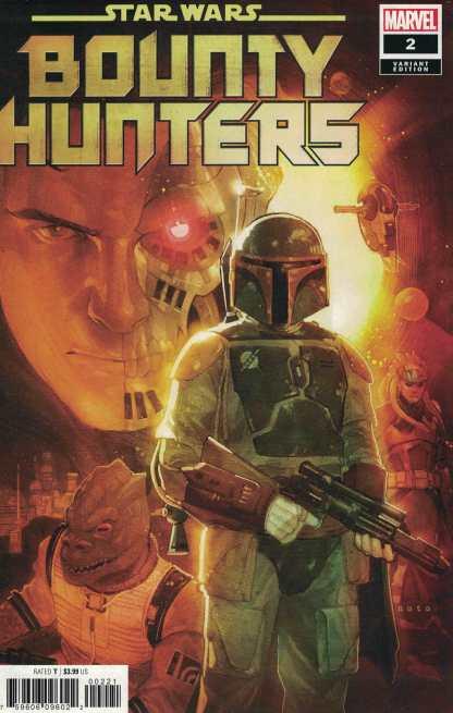 Star Wars Bounty Hunters #2 1:25 Phil Noto Variant Marvel 2020