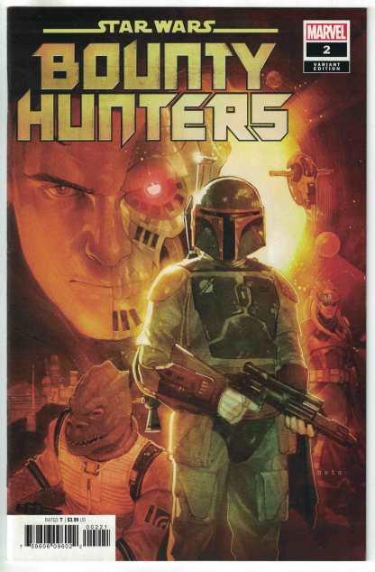 Star Wars Bounty Hunters #2 1:25 Phil Noto Variant Marvel 2020 VF/NM