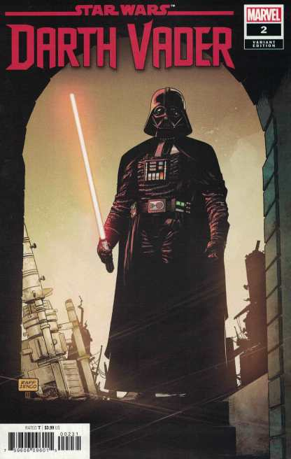 Star Wars Darth Vader #2 1:25 Raffaele Ienco Variant Marvel 2020