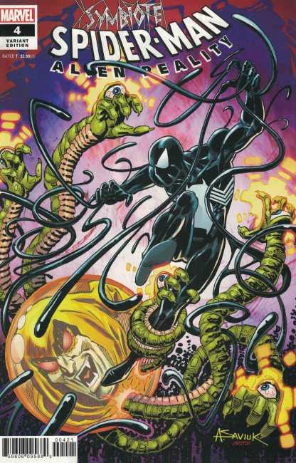 Symbiote Spider-Man Alien Reality #4 1:25 Alex Saviuk Variant Marvel 2019