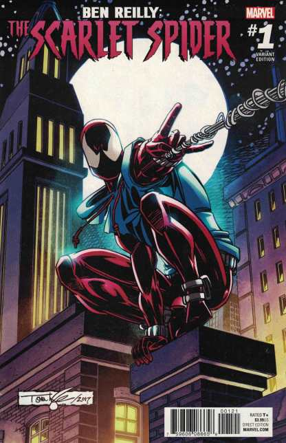 Ben Reilly Scarlet Spider #1 1:20 Tom Lyle Variant Marvel 2017