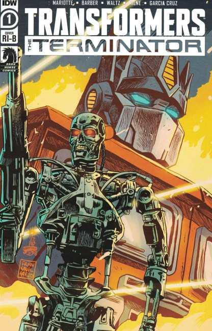 Transformers Terminator #1 1:25 Francesco Francavilla Variant IDW 2020