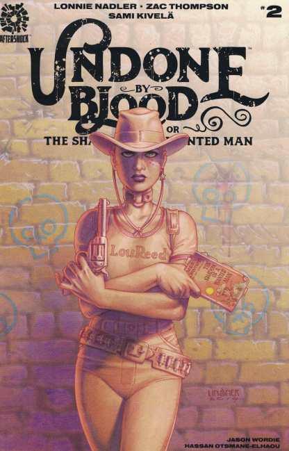 Undone By Blood #2 1:10 Joseph Michael Linsner Variant AfterShock 2020