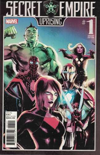 Secret Empire Uprising #1 Rafael Albuquerque Variant Marvel 2017