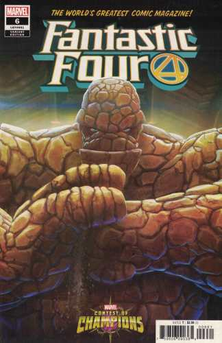Fantastic Four #6 Smailes Contest of Champions Variant Marvel 2018 The Thing