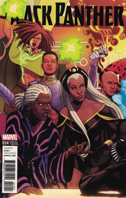 Black Panther #14 Jamie McKelvie Connecting Variant Marvel 2016 Ta-Nehisi Coates