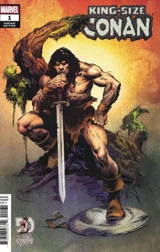 King-Size Conan #1 1:100 John Buscema Marvel 2020