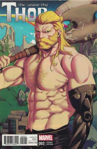 Unworthy Thor #2 1:25 Kris Anka Variant NOW Marvel 2016