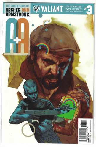 A&A Adventures of Archer and Armstrong #3 1:20 Ben Oliver Variant 2016 VF/NM