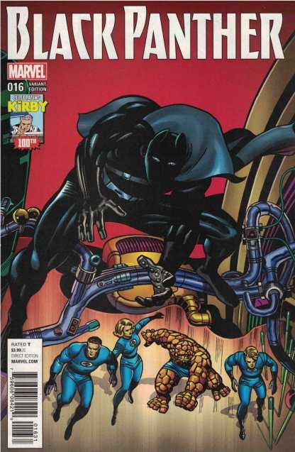 Black Panther #16 1:10 Jack Kirby Variant Marvel 2016 Ta-Nehisi Coates