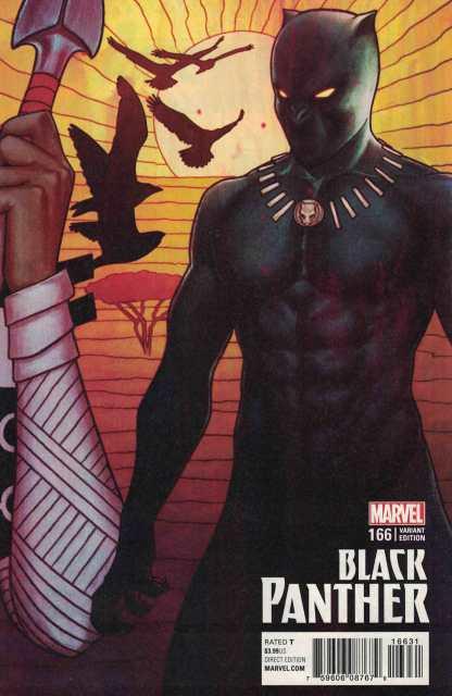 Black Panther #166 Jenny Frison Variant Marvel 2017 Ta-Nehisi Coates