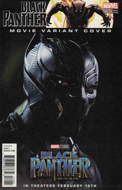 Black Panther #170 1:10 Movie Variant Marvel 2017 Chadwick Boseman