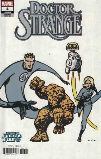 Doctor Strange #4 David Aja Variant Fantastic Four Marvel 2018 Mark Waid