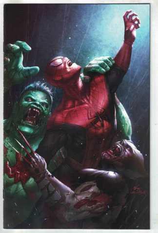 Marvel Zombies Resurrection #3 1:25 InHyuk Lee Variant 2020 VF/NM