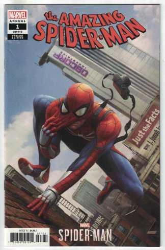 Amazing Spider-Man Annual #1 1:10 Mandryk Video Game Variant 2018 VF/NM