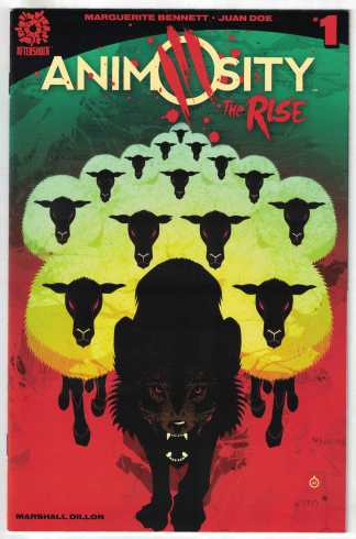 Animosity The Rise #1 First Print Cover A AfterShock 2017 VF/NM