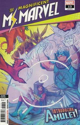 Magnificent Ms Marvel #13 Second Printing Joey Vazquez Variant Marvel 2019