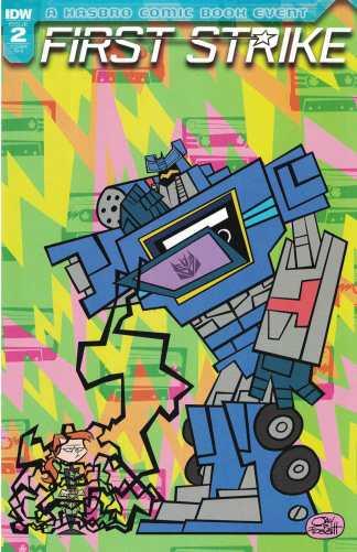 First Strike #2 1:10 Jay P Fosgitt Transformers Soundwave Variant IDW 2017