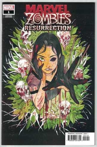 Marvel Zombies Resurrection #1 1:50 Peach Momoko Variant Marvel 2020 VF/NM