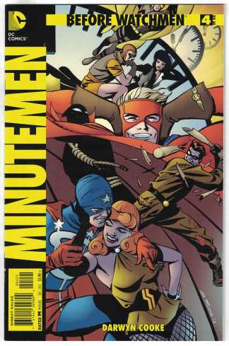 Before Watchmen Minutemen #4 1:25 Steve Rude Variant DC 2012 VF/NM