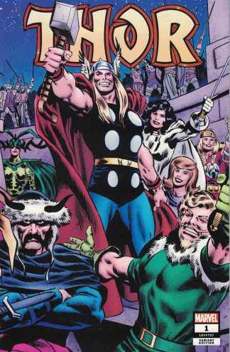 Thor #1 1:1000 John Buscema Wraparound Variant Marvel 2020 Donny Cates