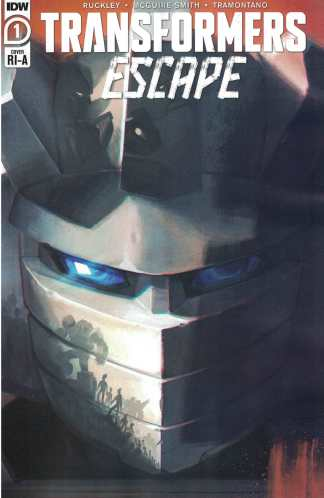 Transformers Escape #1 1:10 Sara Pitre-Durocher Variant IDW 2020