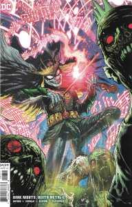 Dark Nights Death Metal #6 1:25 Doug Mahnke Robin King Variant DC 2020 Snyder